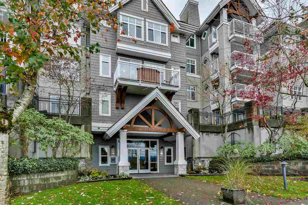 """Main Photo: 306 1432 PARKWAY Boulevard in Coquitlam: Westwood Plateau Condo for sale in """"THE MONTREUX"""" : MLS®# R2128821"""