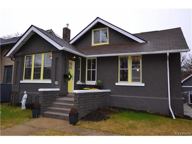 Main Photo: 181 Ash Street in Winnipeg: River Heights Residential for sale (1C)  : MLS®# 1708659