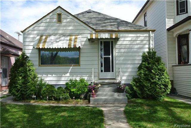 Main Photo: 1187 Sherburn Street in Winnipeg: Sargent Park Residential for sale (5C)  : MLS®# 1712155