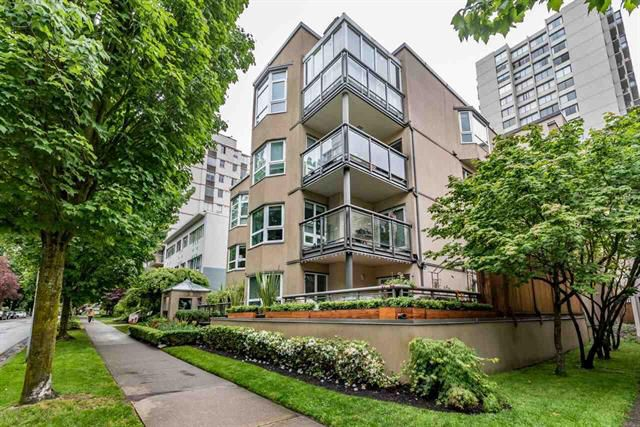 Main Photo: 306 1835 Barclay in Vancouver: West End VW Condo for sale (Vancouver West)  : MLS®# R2173243