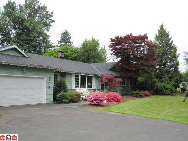Main Photo: 5485 256TH STREET in : Salmon River House for sale (Langley)  : MLS®# F1211347