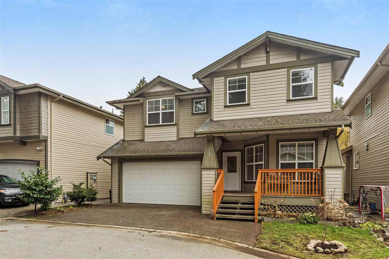 "Main Photo: 113 21868 LOUGHEED Highway in Maple Ridge: West Central House for sale in ""EAGLE CREST PLACE"" : MLS®# R2244998"