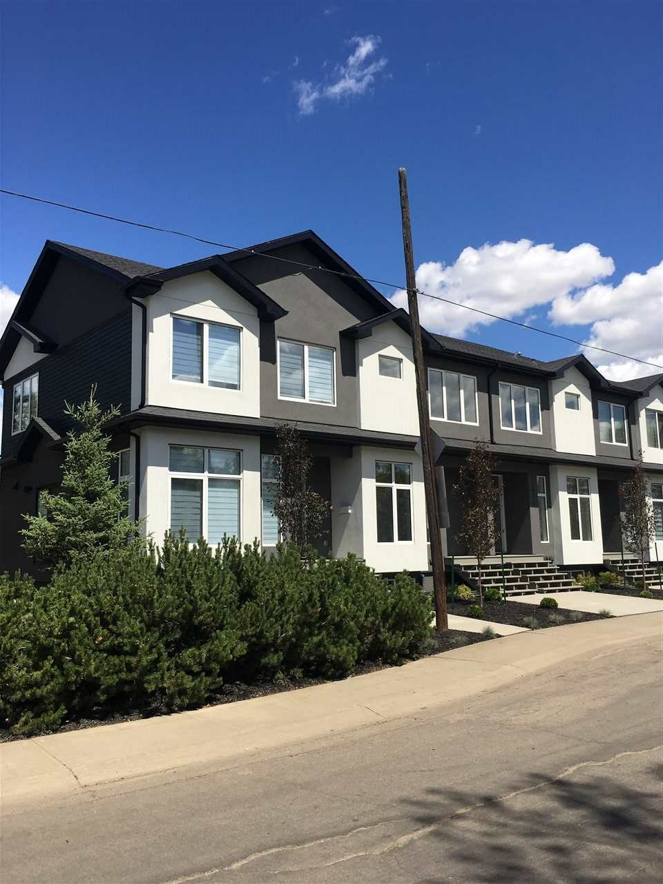 Main Photo: 14914 108 Avenue in Edmonton: Zone 21 Townhouse for sale : MLS®# E4139615