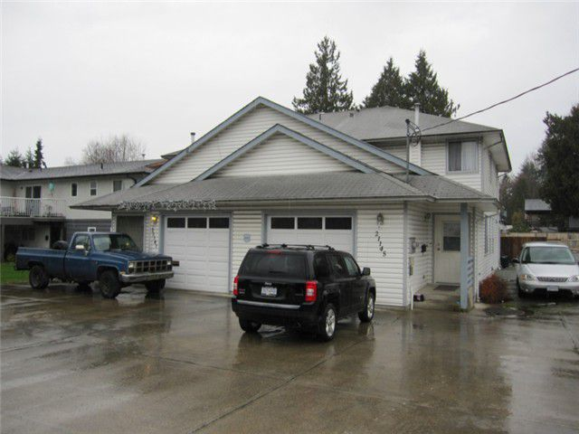Main Photo: 21145 DEWDNEY TRUNK Road in Maple Ridge: Northwest Maple Ridge House Duplex for sale : MLS®# V1052059