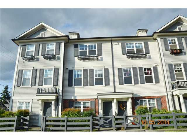 """Main Photo: 2 2495 DAVIES Avenue in Port Coquitlam: Central Pt Coquitlam Townhouse for sale in """"ARBOUR"""" : MLS®# V1087204"""