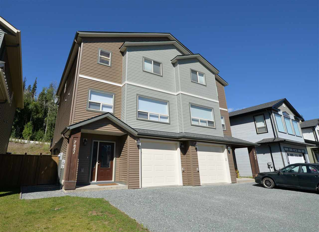 "Main Photo: 7651 STILLWATER Crescent in Prince George: Lower College House 1/2 Duplex for sale in ""CREEKSIDE PROPERTIES"" (PG City South (Zone 74))  : MLS®# R2193324"
