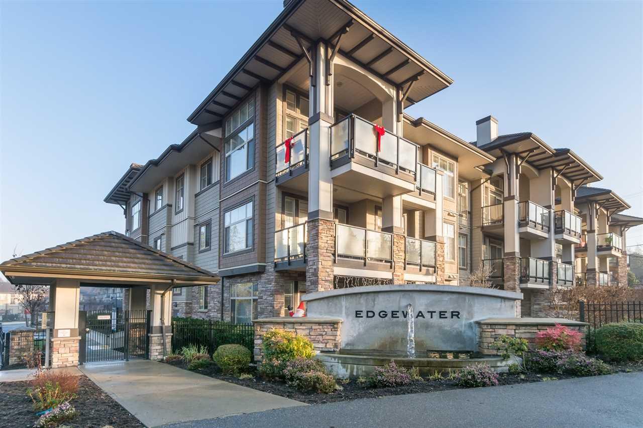 "Main Photo: 313 15195 36 Avenue in Surrey: Morgan Creek Condo for sale in ""EDGEWATER"" (South Surrey White Rock)  : MLS®# R2227987"