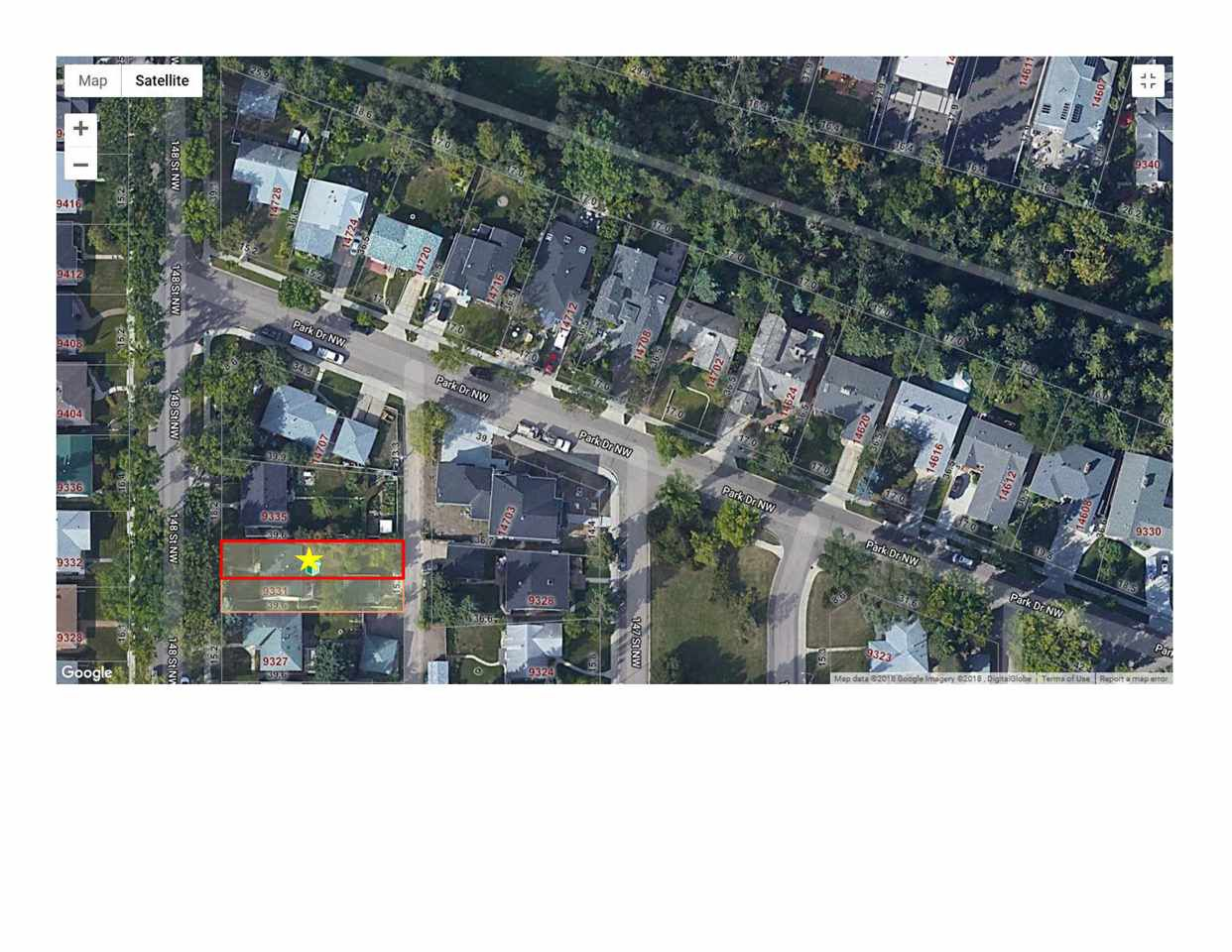Main Photo: 9333 148 Street in Edmonton: Zone 10 Vacant Lot for sale : MLS®# E4128270