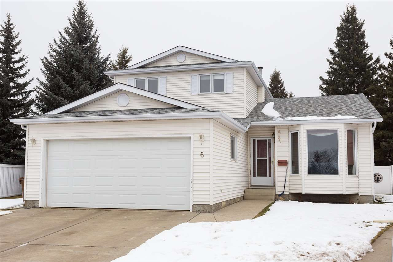 Main Photo: 6 DENAULT Place: St. Albert House for sale : MLS®# E4137143