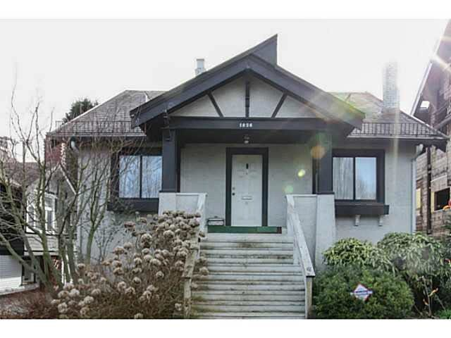 Main Photo: 1826 W 12 Avenue in Vancouver: Kitsilano House for sale (Vancouver West)  : MLS®# R2327557