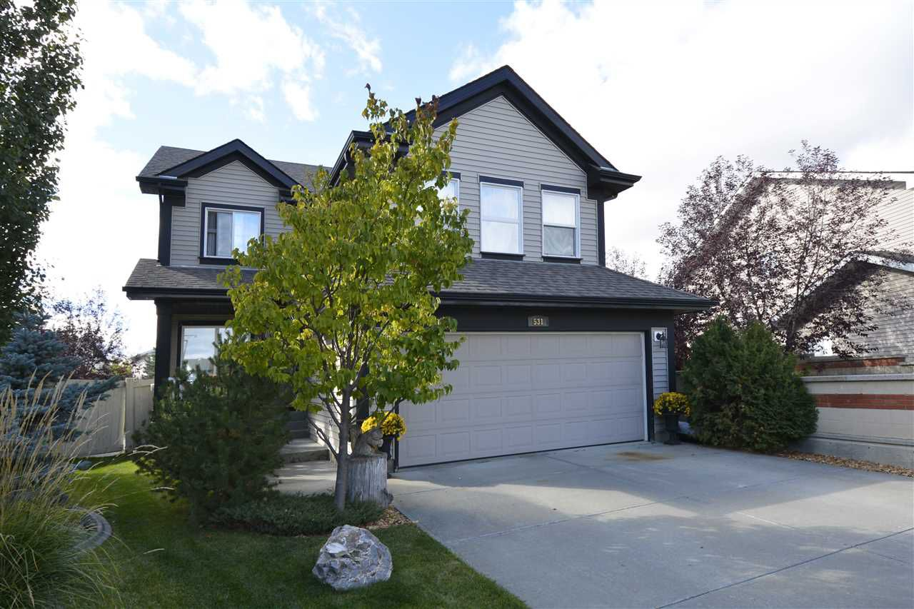 Main Photo: 531 CALDWELL Court in Edmonton: Zone 20 House for sale : MLS®# E4139952