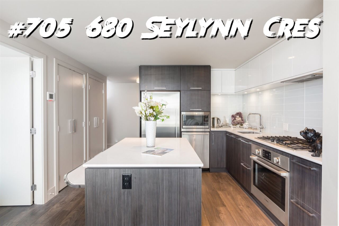 "Main Photo: 705 680 SEYLYNN Crescent in North Vancouver: Northlands Condo for sale in ""Compass at Seylynn"" : MLS®# R2359687"