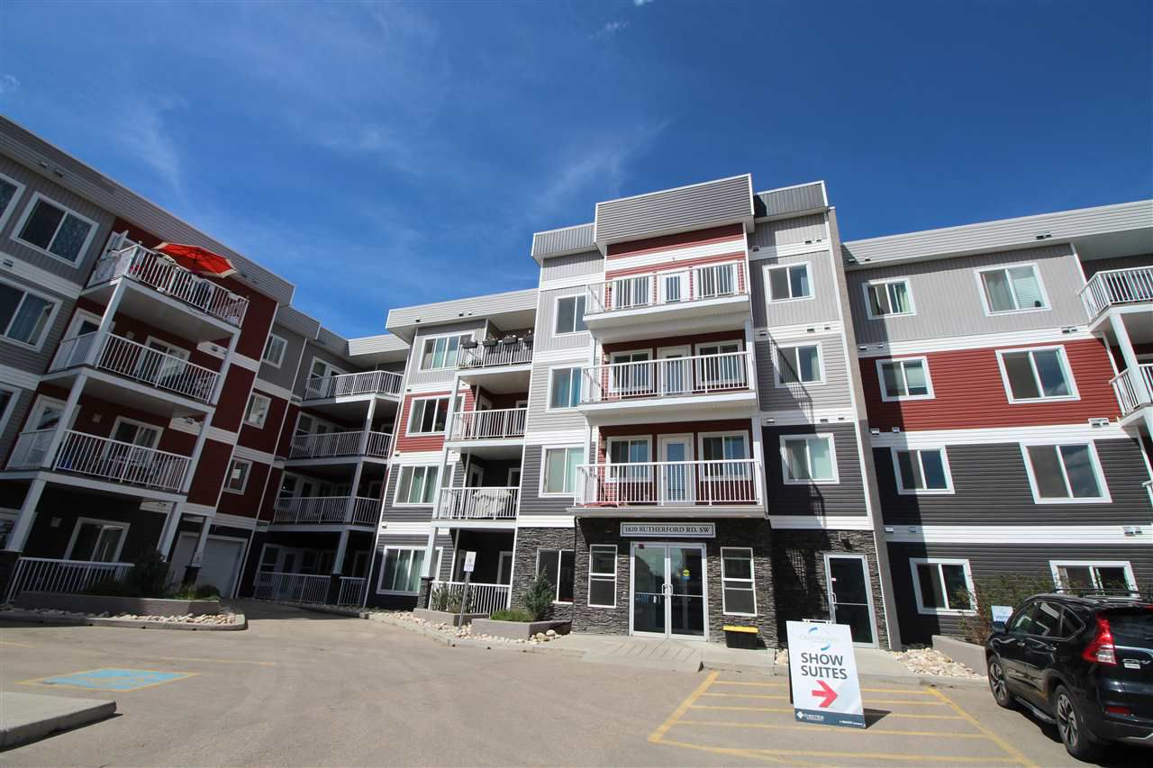 Main Photo: 410 1820 RUTHERFORD Road in Edmonton: Zone 55 Condo for sale : MLS®# E4161595
