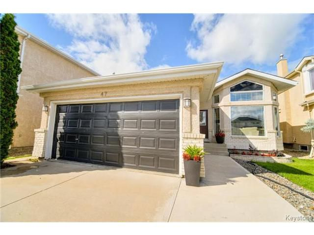 Main Photo: 47 Abbotsfield Drive in WINNIPEG: St Vital Residential for sale (South East Winnipeg)  : MLS®# 1423886