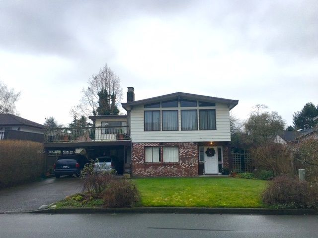 Main Photo: 6920 GAINSBOROUGH Drive in Richmond: Woodwards House for sale : MLS®# R2030125