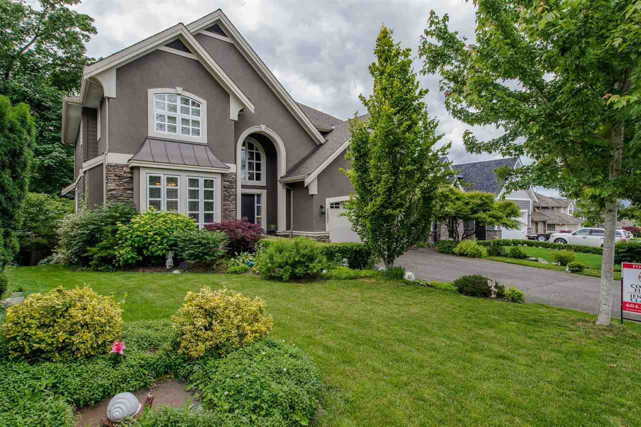 "Main Photo: 3597 CREEKSTONE Drive in Abbotsford: Abbotsford East House for sale in ""CREEKSIDE ESTATES"" : MLS®# R2180883"