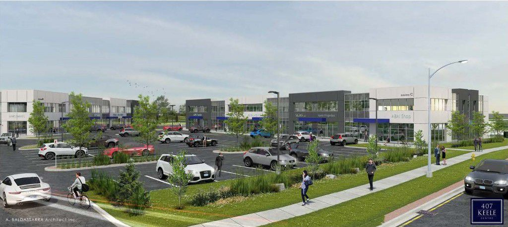 Main Photo: 407 Keele Centre in Vaughan: Concord Commercial for sale