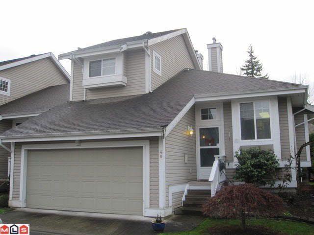 Main Photo: 40 20788 87TH AVENUE in : Walnut Grove Condo for sale (Langley)  : MLS®# F1029226