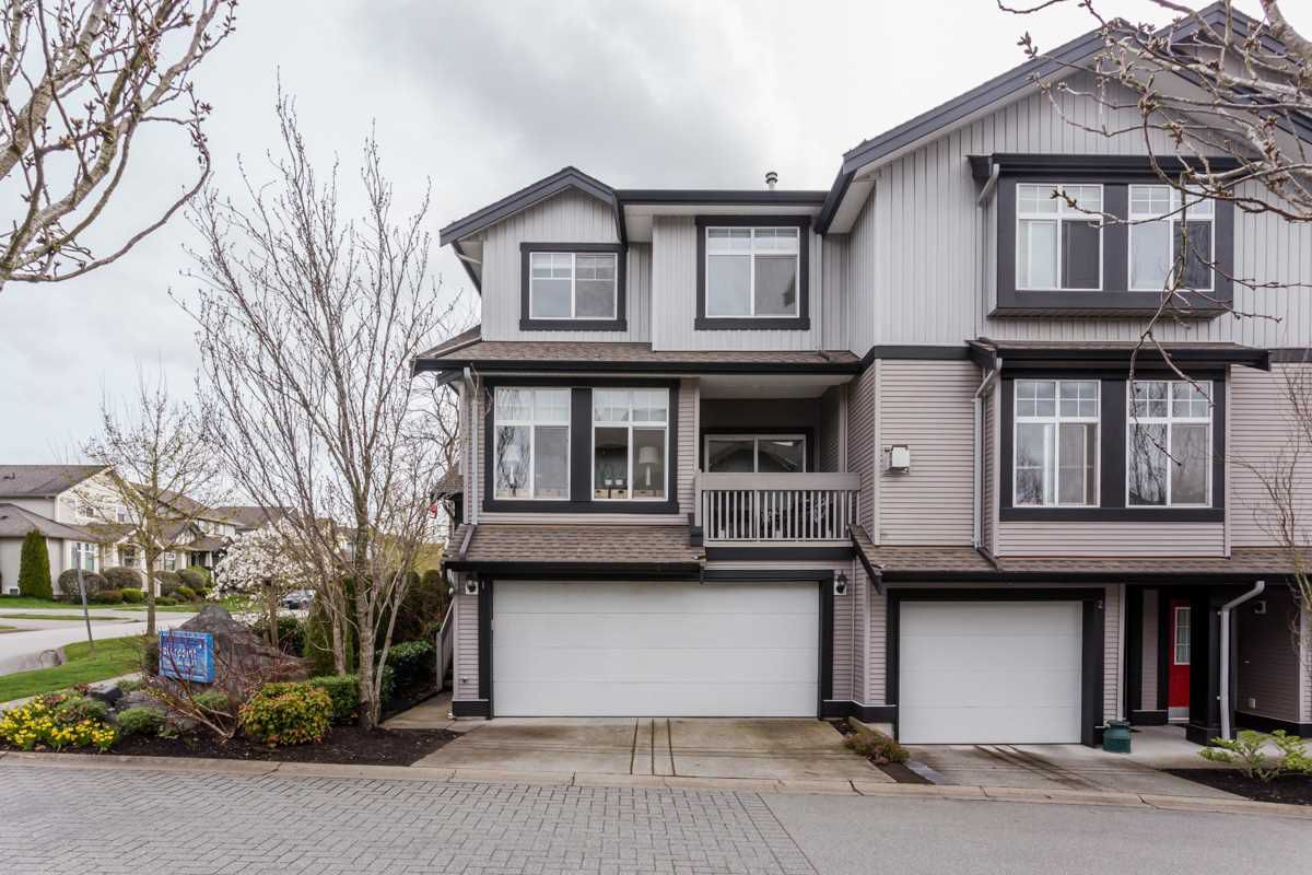 "Main Photo: 1 18828 69 Avenue in Surrey: Clayton Townhouse for sale in ""Starpoint"" (Cloverdale)  : MLS®# R2255825"
