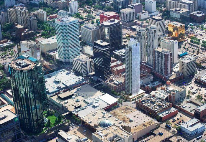 Main Photo: 1902 10180 103 Street in Edmonton: Zone 12 Condo for sale : MLS®# E4132954