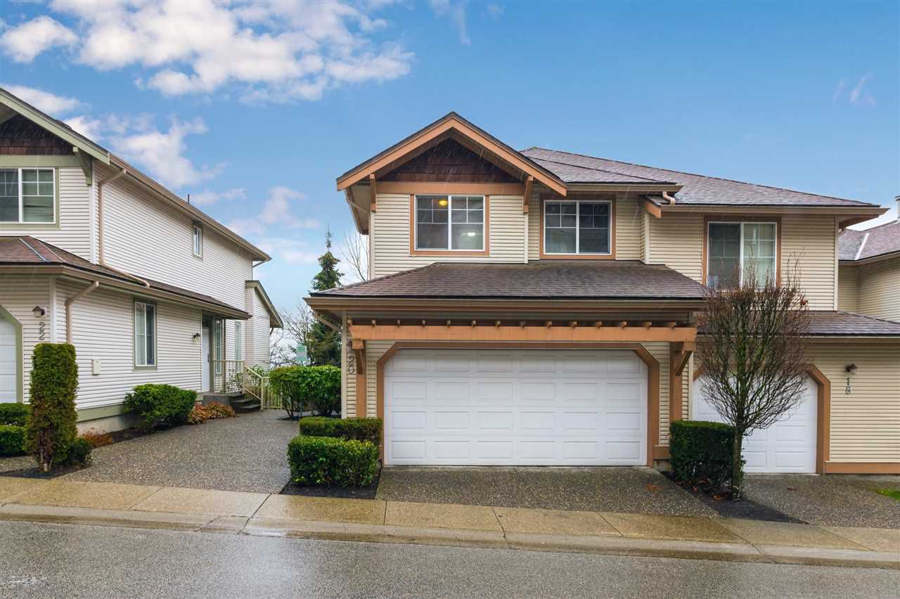 """Main Photo: 20 35287 OLD YALE Road in Abbotsford: Abbotsford East Townhouse for sale in """"The Falls"""" : MLS®# R2328995"""