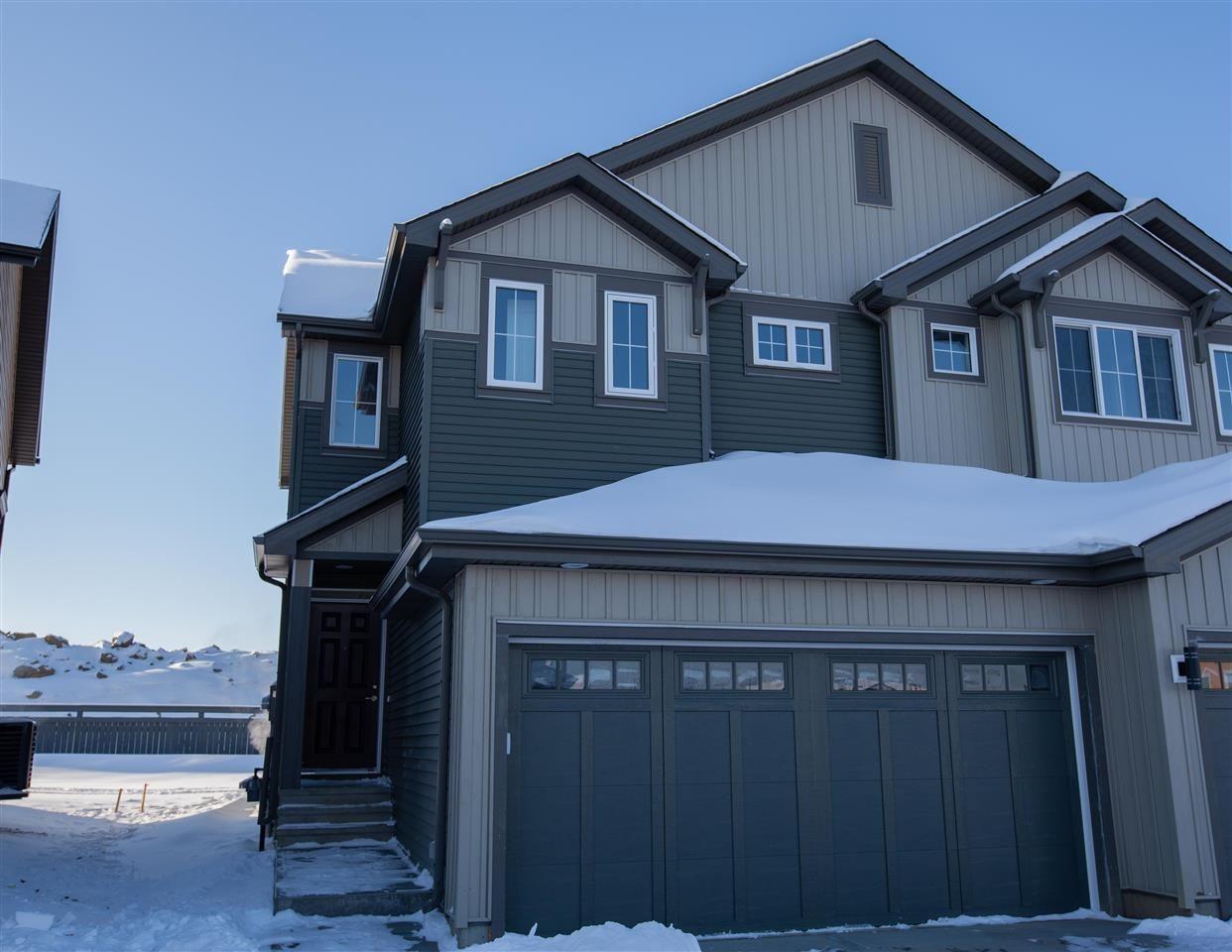 Main Photo: 2905 DUKE Crescent in Edmonton: Zone 55 House Half Duplex for sale : MLS®# E4144273