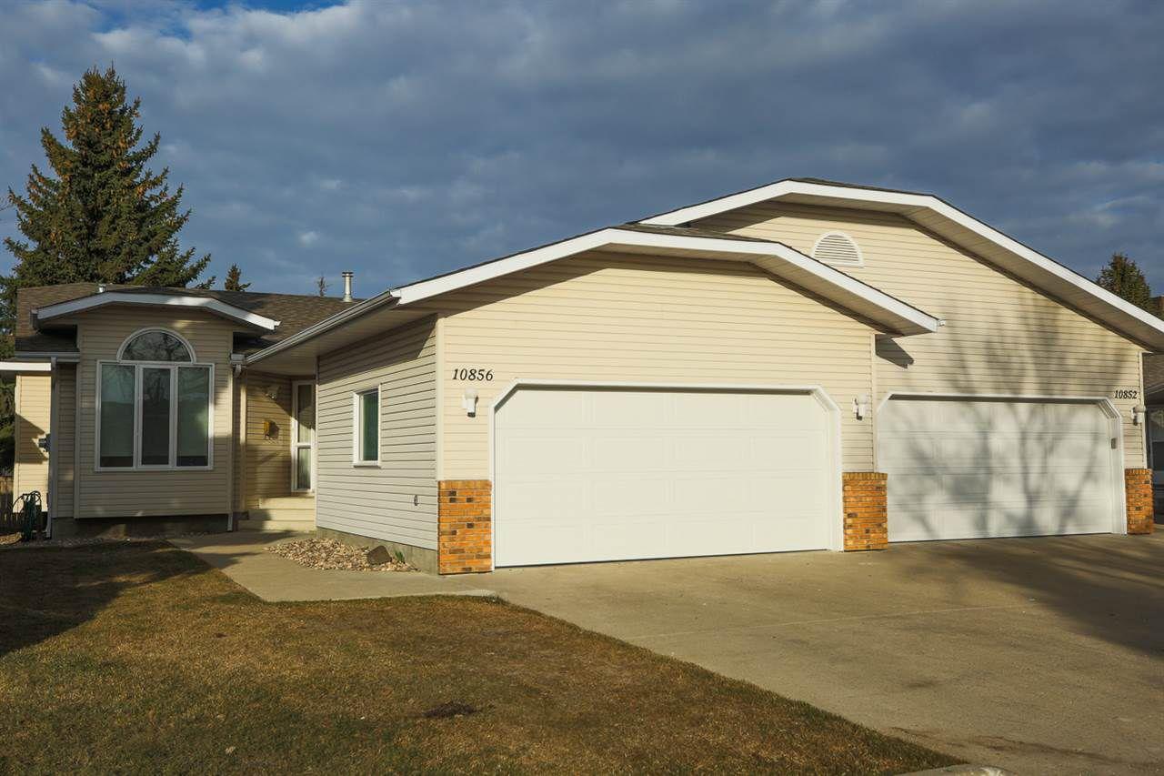 Main Photo: 10856 25 Avenue in Edmonton: Zone 16 House Half Duplex for sale : MLS®# E4151932