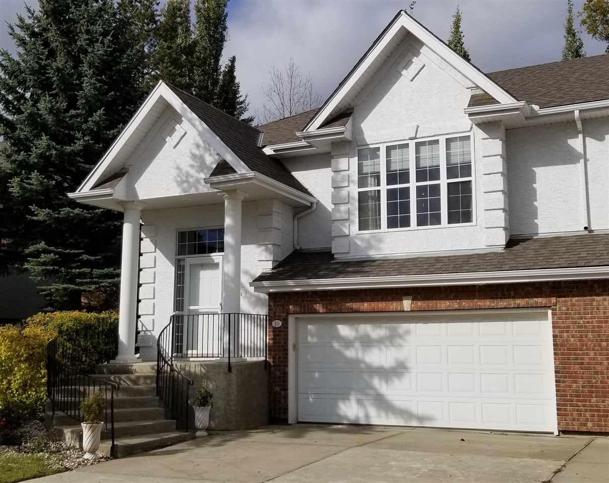 Main Photo: 10 Oakbay Point: St. Albert House Half Duplex for sale : MLS®# E4154790