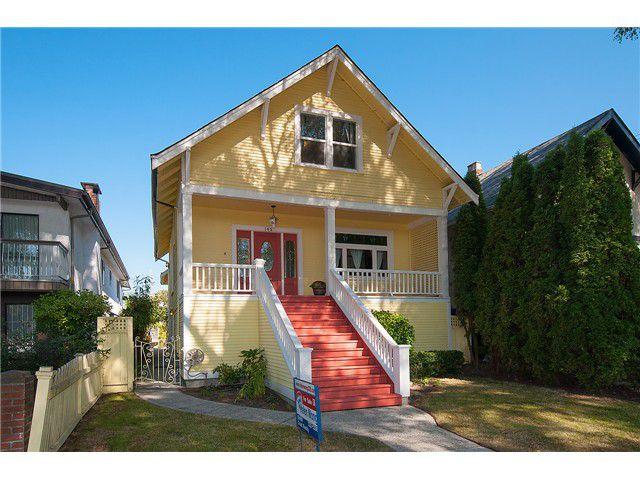 Main Photo: 165 E 46TH AV in Vancouver: Main House for sale (Vancouver East)  : MLS®# V1084959