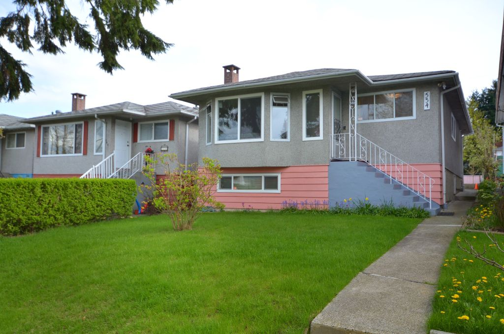 Main Photo: 534 E 29TH Avenue in Vancouver: Fraser VE House for sale (Vancouver East)  : MLS®# V946976