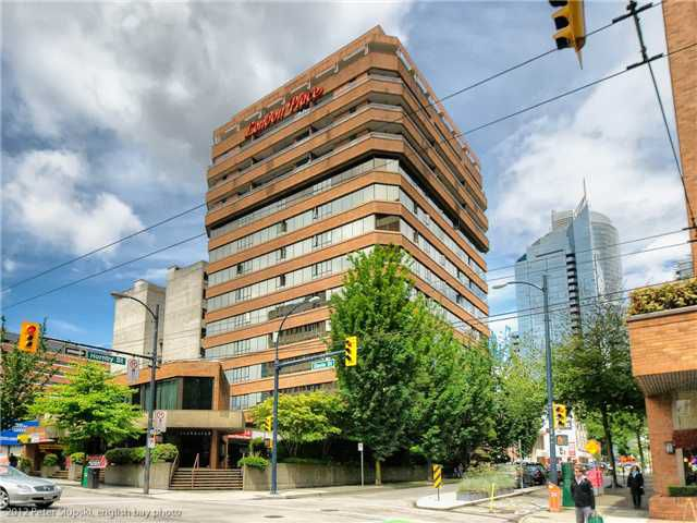 Main Photo: 705 1177 HORNBY Street in Vancouver: Downtown VW Condo for sale (Vancouver West)  : MLS®# V955817