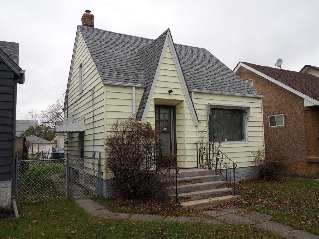 Main Photo: 464 Garlies Street in Winnipeg: North End Single Family Detached for sale (Central Winnipeg)  : MLS®# 1529498