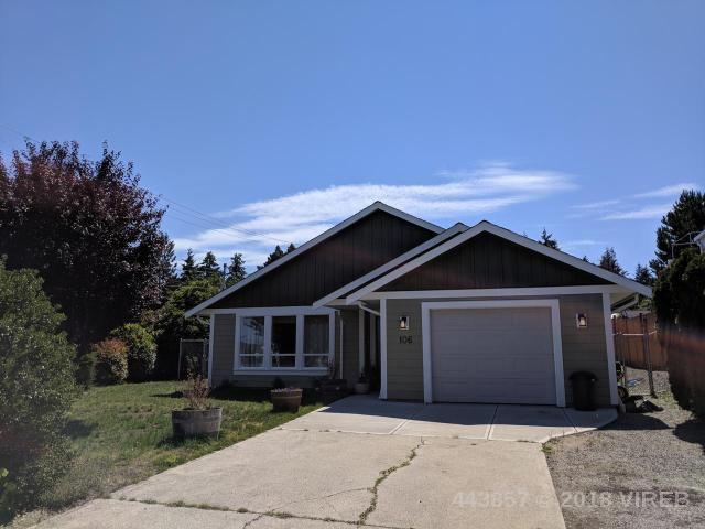 Main Photo: 106 MOSS Avenue in PARKSVILLE: Z5 Parksville House for sale (Zone 5 - Parksville/Qualicum)  : MLS®# 443857