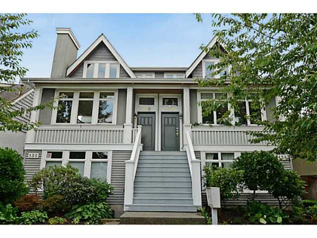 """Main Photo: 132 W 16TH Avenue in Vancouver: Cambie Townhouse for sale in """"CAMBIE VILLAGE"""" (Vancouver West)  : MLS®# V1025834"""