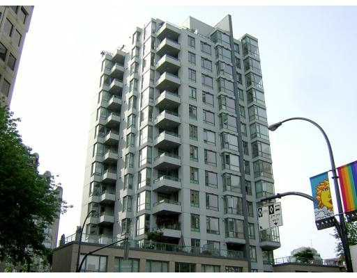 "Main Photo: 1307 1238 BURRARD ST in Vancouver: Downtown VW Condo for sale in ""ALTEDINA"" (Vancouver West)  : MLS®# V597587"