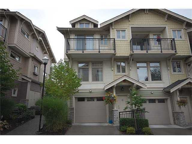 """Main Photo: 26 245 FRANCIS Way in New Westminster: Fraserview NW Townhouse for sale in """"GLENBROOK AT VICTORIA HILL"""" : MLS®# V936065"""