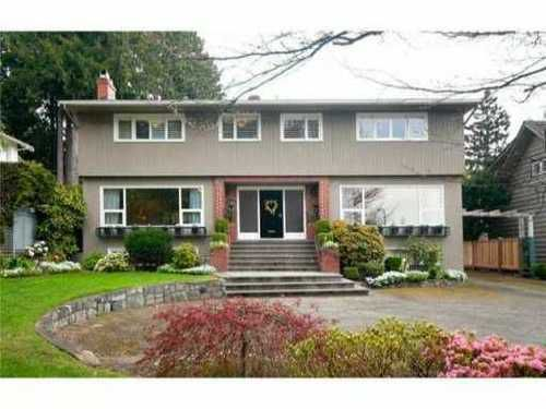 Main Photo: 6222 MCCLEERY Street in Vancouver West: Kerrisdale Home for sale ()  : MLS®# V863142