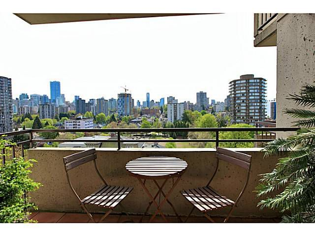 Main Photo: # 1405 1725 PENDRELL ST in Vancouver: West End VW Condo for sale (Vancouver West)  : MLS®# V1062013