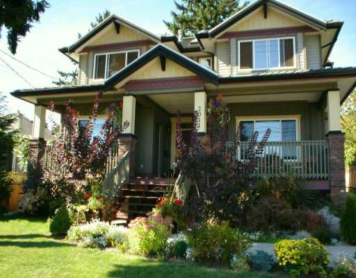 Main Photo: 2011 DUBLIN ST in New Westminster: West End NW House for sale : MLS®# V610561