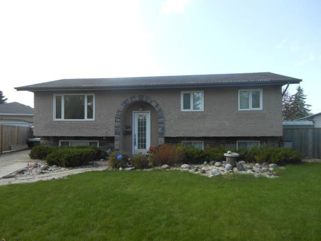 Main Photo: 54 Mackie Bay in WINNIPEG: Westwood / Crestview Residential for sale (West Winnipeg)  : MLS®# 1208909