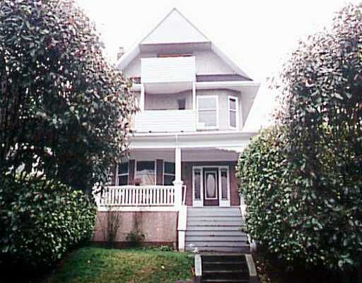 Main Photo: 1330 CYPRESS ST in : Kitsilano House Fourplex for sale : MLS®# V209782