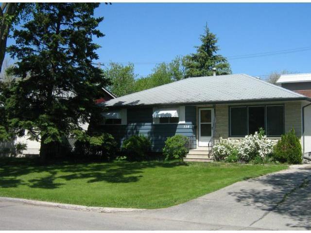 Main Photo: 334 MORGAN Crescent in WINNIPEG: Westwood / Crestview Residential for sale (West Winnipeg)  : MLS®# 1211558