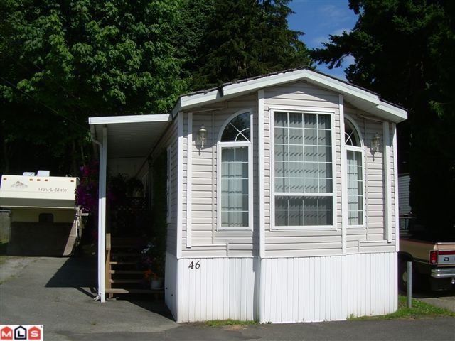 "Main Photo: 46 9525 KING GEORGE Boulevard in Surrey: Queen Mary Park Surrey Manufactured Home for sale in ""Park Place"" : MLS®# F1223210"