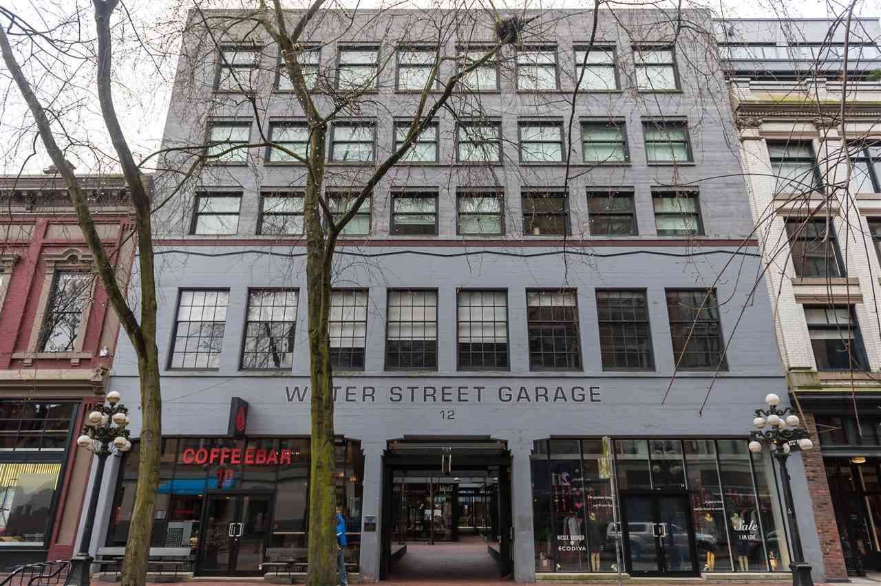 Main Photo: 302 12 WATER STREET in Vancouver: Downtown VW Condo for sale (Vancouver West)  : MLS®# R2060347