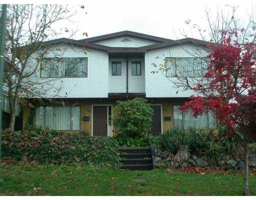 Main Photo: 8550 HEATHER ST in Vancouver: Marpole House 1/2 Duplex for sale (Vancouver West)  : MLS®# V581159