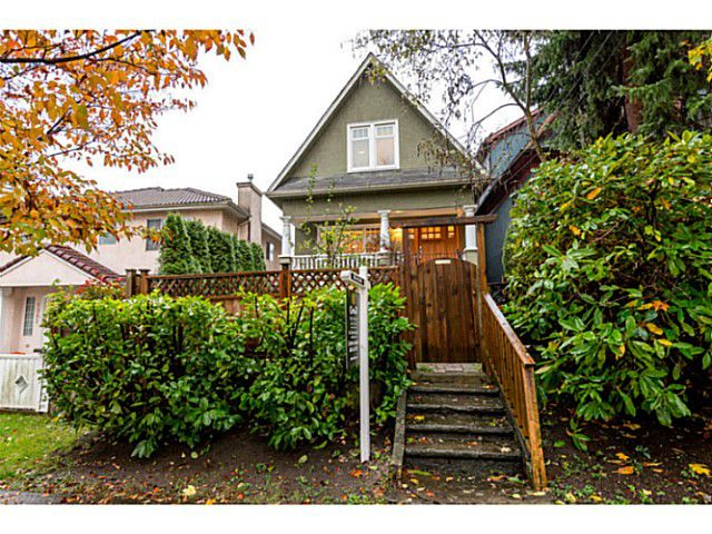Main Photo: 1354 E 15TH AV in Vancouver: Grandview VE House for sale (Vancouver East)  : MLS®# V1093126