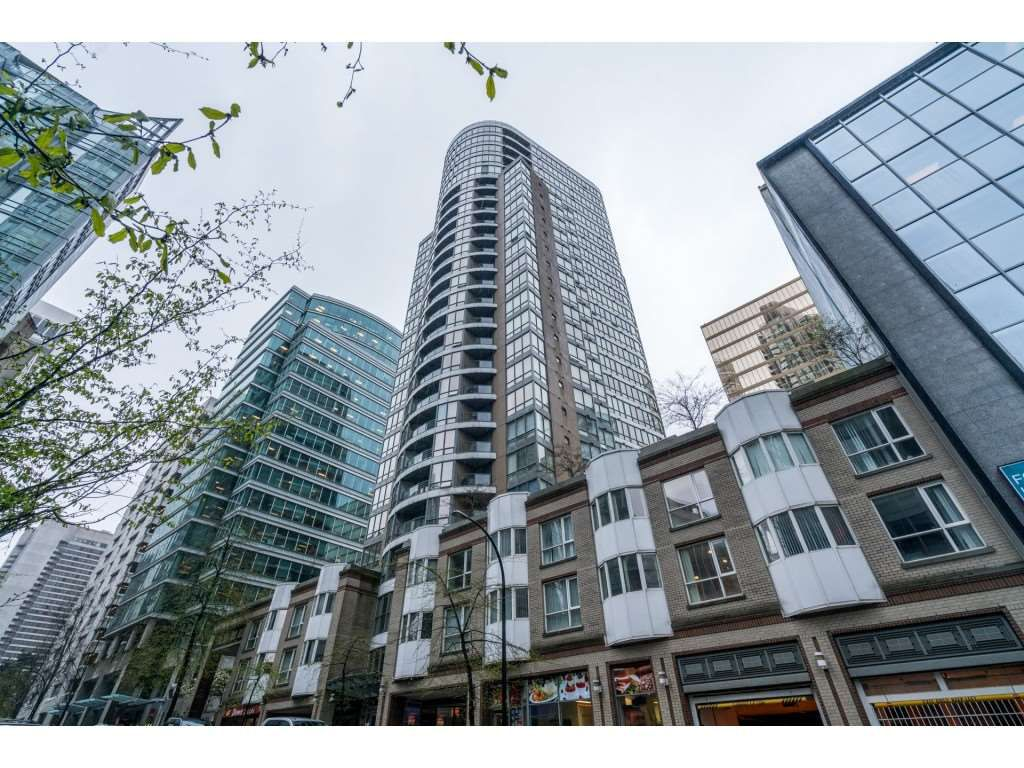 Main Photo: 2502 1166 MELVILLE STREET in Vancouver: Coal Harbour Condo for sale (Vancouver West)  : MLS®# R2295898