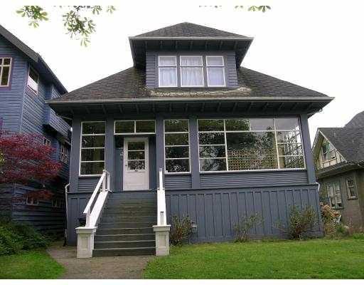 Main Photo: 1850 NAPIER ST in : Grandview VE House for sale : MLS®# V585662