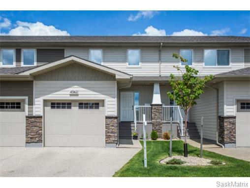 Main Photo: 4562 HARBOUR VILLAGE WAY in Regina: Harbour Landing Complex for sale (Regina Area 05)  : MLS®# 574513