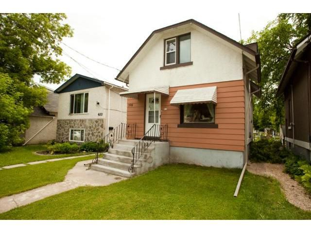 Main Photo: 398 Deschambault Street in WINNIPEG: St Boniface Residential for sale (South East Winnipeg)  : MLS®# 1212078